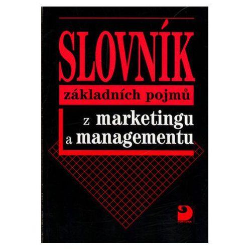 Slovník základních pojmů z marketingu a managementu Jitka Vysekalová (8071685046)
