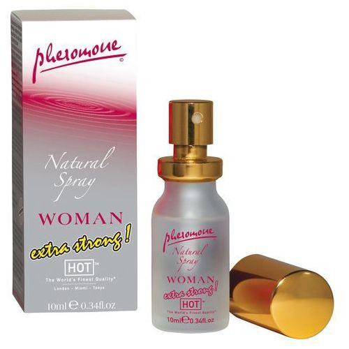 Hot Pheromone Natural Spray Extra Strong Woman Feromony dla kobiet w sprayu 10ml, 7500055053