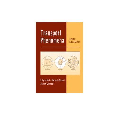 Transport Phenomena (9780470115398)