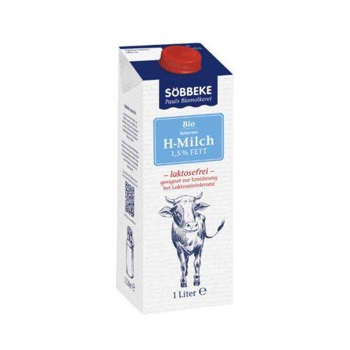 Sobbeke 1l mleko 1,5% bez laktozy bio