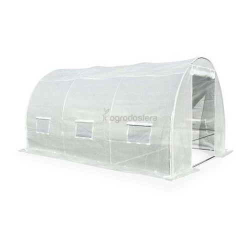Tunel foliowy do uprawy roślin 2x3,5m biały - transport gratis! marki Garden point