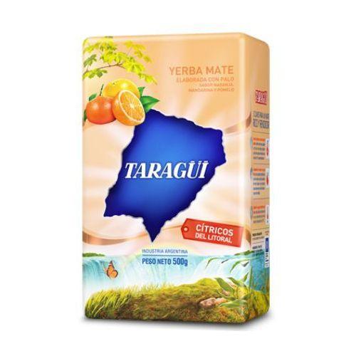 Yerba Mate Taragui Citricos del Litoral z pomarańczą mandarynką i grejpfrutem 500g, YERBA