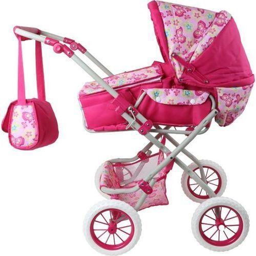 Wózek dla lalki Kwiat - zabawka dla dzieci - oferta [05092d700791959b]