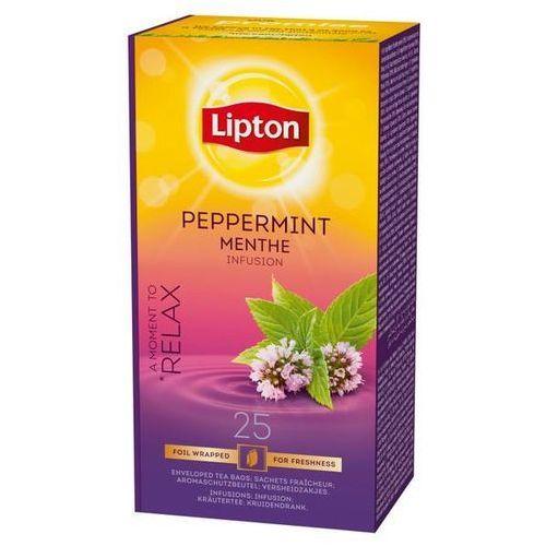 Herbata eksp. LIPTON EX - mięta op.25