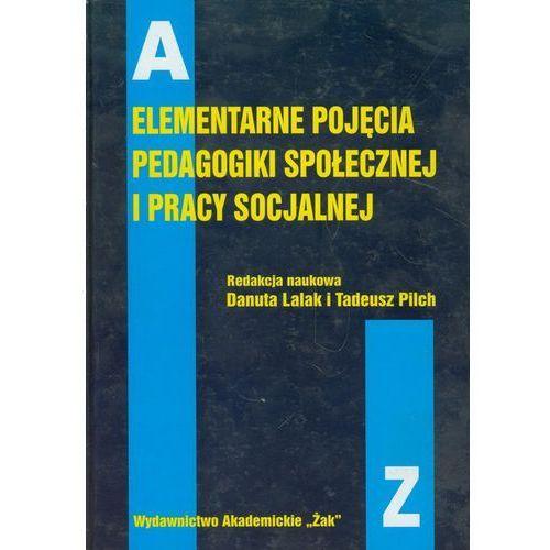Elementarne pojęcia pedagogiki społecznej i pracy socjalnej (1999)