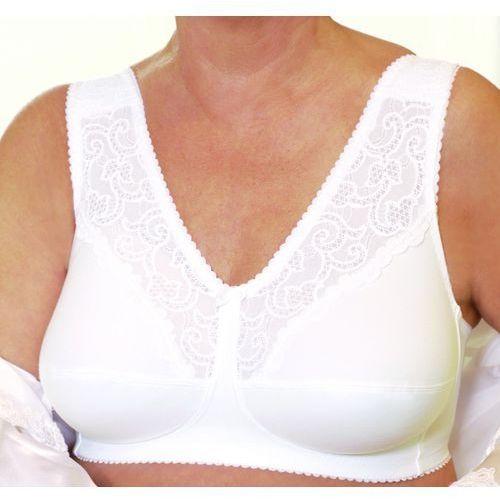 Biustonosz owy Apart Contura Belle Silima (kieszonka na lewą pierś, rozmiar 90C, biały) z kategorii gorsety