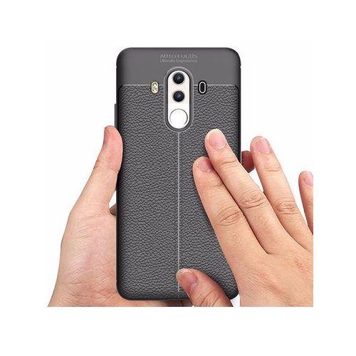 Etui pancerne Alogy leather Huawei Mate 10 Pro czarne, kolor czarny