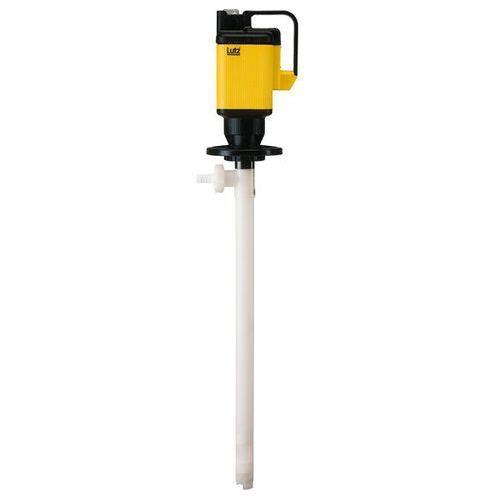 Pompa do beczek, elektryczna, do skoncentrowanych kwasów i zasad, urządzenie pod marki Lutz blades