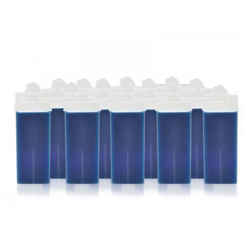 DEPILUX 24 SZT. WOSK DO TWARZY ROLKA BLUE AZULEN 100 ML (wosk do depilacji)