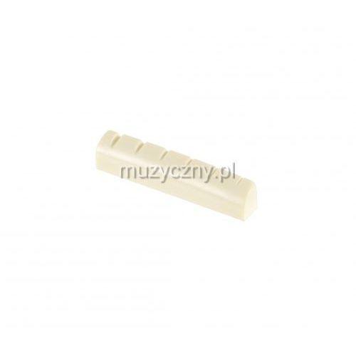 ba026a siodełko do gitary akustycznej leworęcznej 43 x 6 x 8,3 - 7,4mm marki Alice