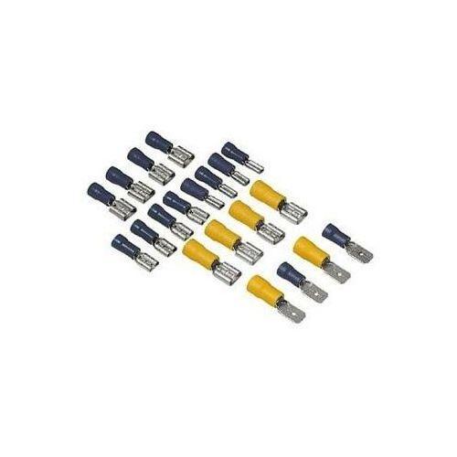 Akcesorium HAMA Konektor płaski gniazdo 2.5/2.8.6 wtyki 6/6.3 mm, towar z kategorii: Pozostały sprzęt samochodowy audio/video