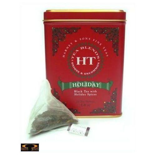 Harney & sons Herbata holiday, puszka liściasta 20 szt.