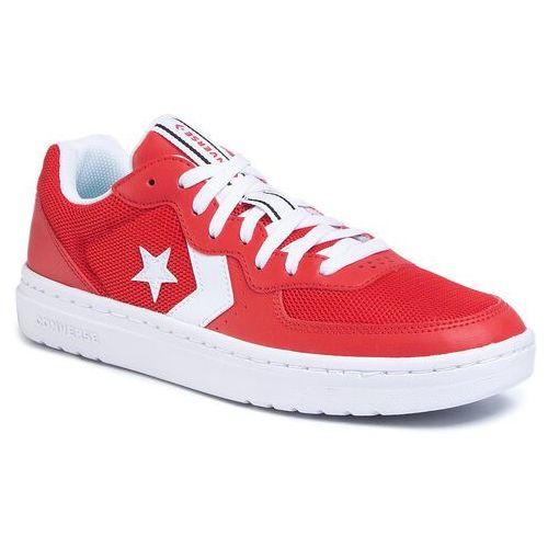 Sneakersy CONVERSE - Rival Ox 167529C University Red/White/White, kolor czerwony