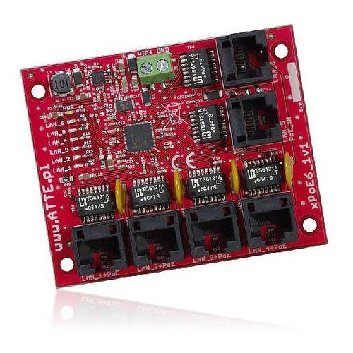 Bcs -xpoe6 switch 6 portowy niezarządzalny poe dedykowany do systemów cctv ip