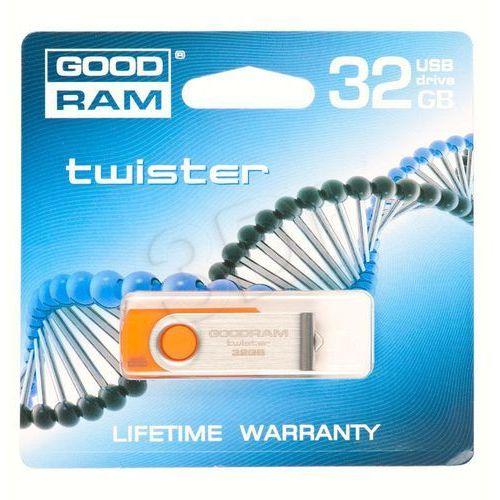 GOODDRIVE FLASHDRIVE 32GB USB 2.0 TWISTER Orange, kup u jednego z partnerów