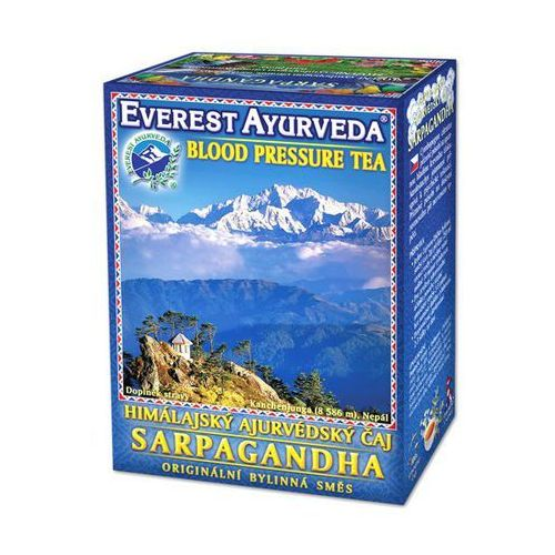 Everest ayurveda Sarpagandha - nadciśnienie tętnicze