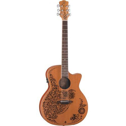 Luna Henna Oasis Cedar gitara elektroakustyczna