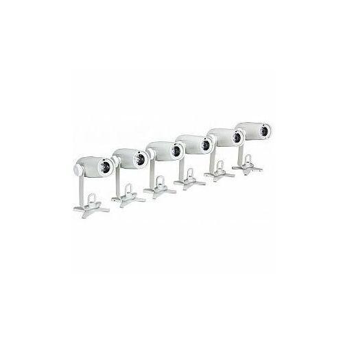 Hq power zestaw led pin - 6 x spot led z ładowarką i kolorowymi filtrami (5410329597986)