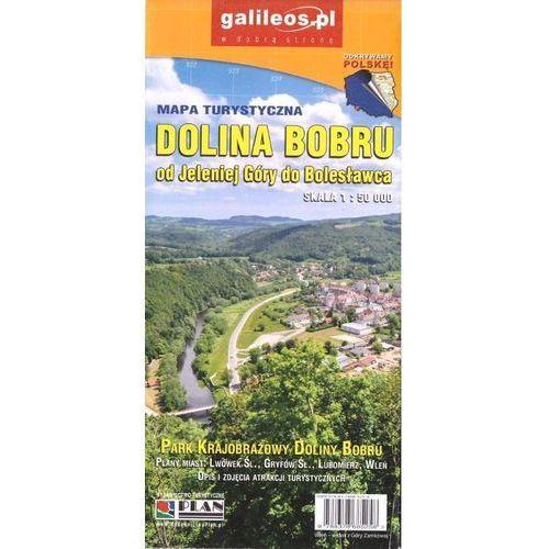 Mapa turystyczna - Dolina Bobru 1:50 000, praca zbiorowa