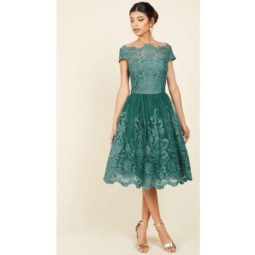 Sukienka Prom Green S