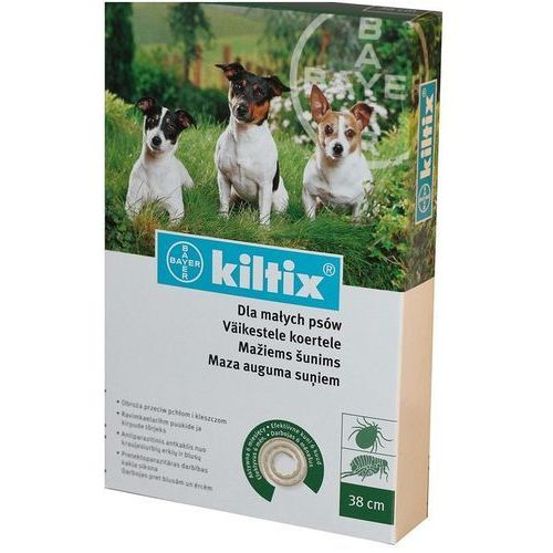 BAYER Kiltix - Obroża dla psów małych (dł. 38cm) - sprawdź w wybranym sklepie