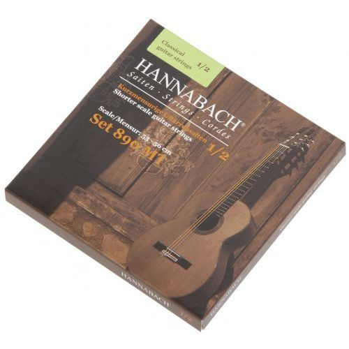 Hannabach (653079) 890 MT struny do gitary klasycznej 1/2, menzura 53-56cm (medium)