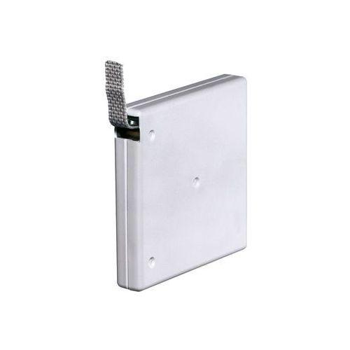 Natynkowy, przykręcany zwijacz z taśmą o dł. 5 m (do taśmy o szer. 15 mm), biały