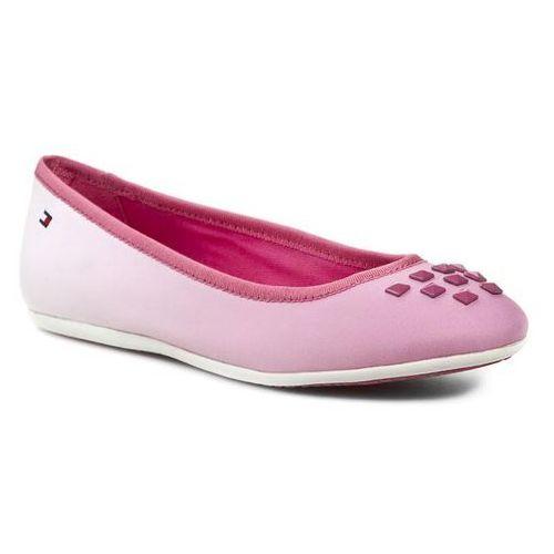 Baleriny TOMMY HILFIGER - Dahlia 11C FG56817051 Shocking Pink 679 ze sklepu eobuwie.pl