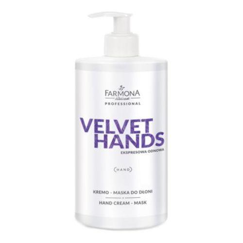 velvet hands kremo-maska do dłoni marki Farmona