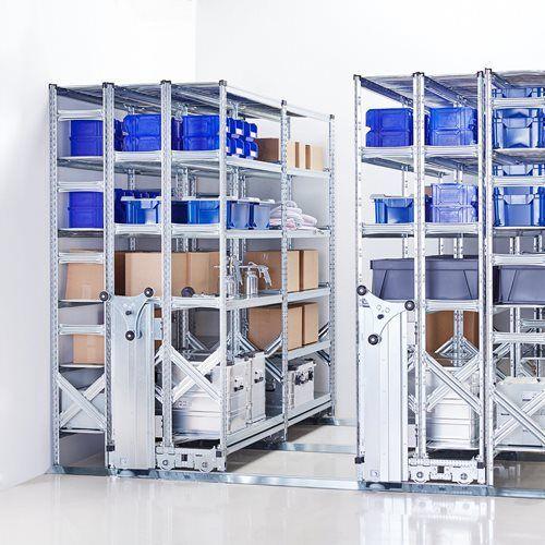 Array Regał przesuwny, archiwizacyjny, 3400x5000 mm