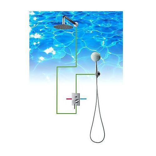 OMNIRES Y Zestaw Podtynkowy z Deszczownicą SYS23 - produkt z kategorii- Stelaże i zestawy podtynkowe