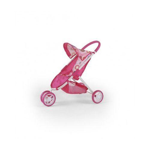 Wózek dla lalek ZUZIA zabawka różowo-brązowy - oferta [05c5ed03a1e2d5fb]