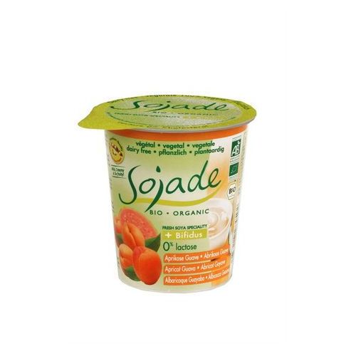 Produkt sojowy morela guawa bio 125 g- sojade marki Sojade dystrybutor: bio planet s.a., wilkowa wieś 7, 05-084 leszno k.