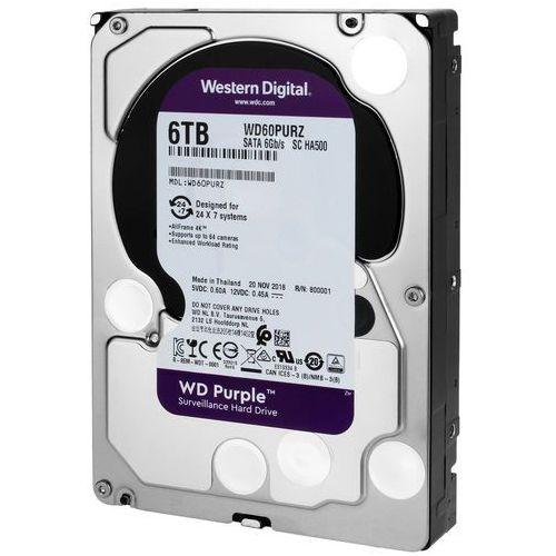 Dysk twardy do rejestratorów cyfrowych WD Purple 6TB, WD60PURZ
