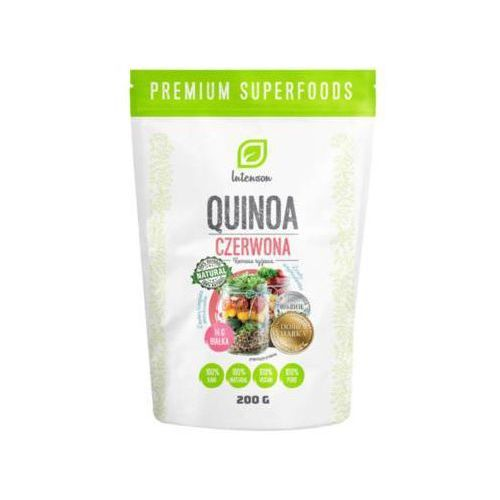 200g quinoa - komosa ryżowa (czerwona) marki Intenson