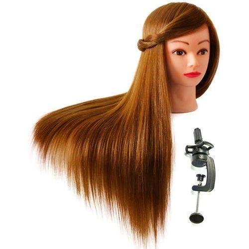 Główka fryzjerska głowa treningowa włos 60 statyw marki Calissimo
