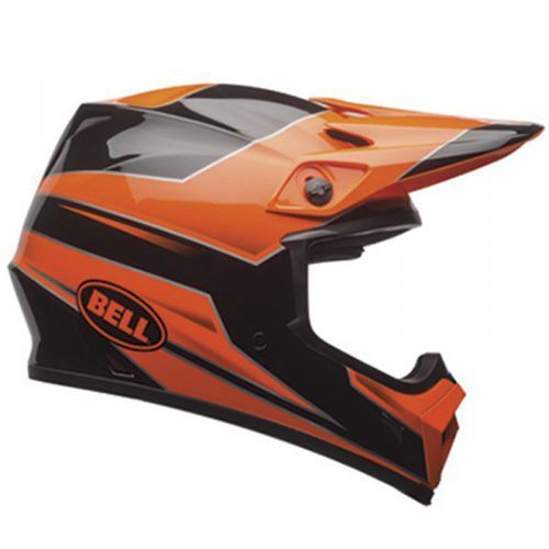mx-9 mips stryker flo orange kask mocross marki Bell