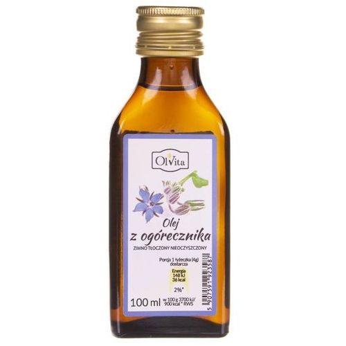 Olej z nasion ogórecznika zimnotłoczony nieoczyszczony 100ml marki Olvita