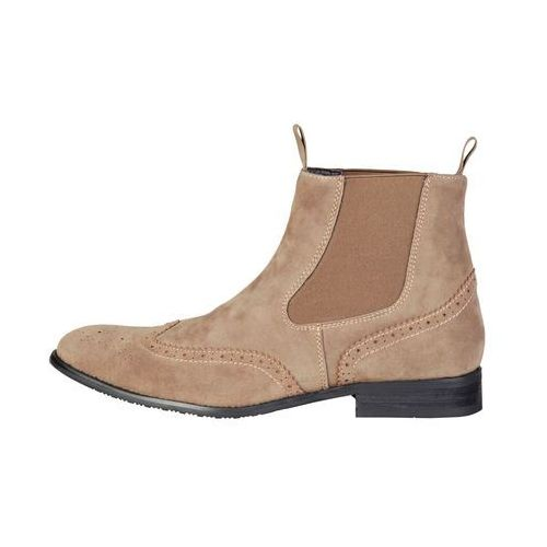 Buty do kostki botki męskie PIERRE CARDIN - ZD3711-78, kolor brązowy