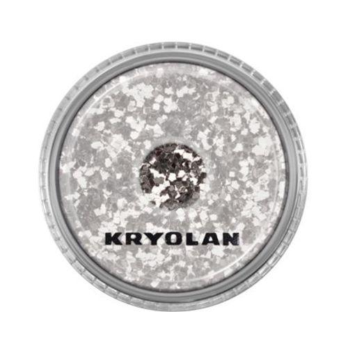 polyester glimmer coarse (silver) gruby sypki brokat - silver (2901) marki Kryolan