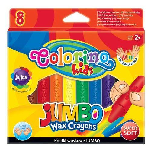 Kredki świecowe Jumbo 8 kolorów 34746PTR