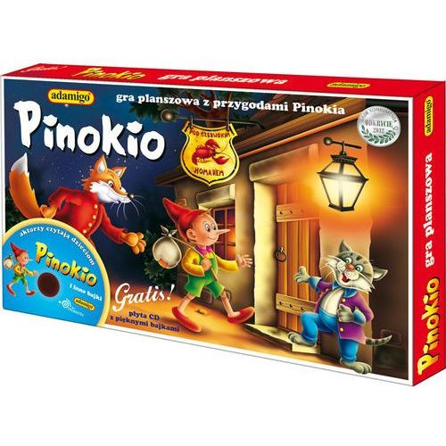 Pinokio Gra planszowa - Jeśli zamówisz do 14:00, wyślemy tego samego dnia. Darmowa dostawa, już od 99,99 zł.
