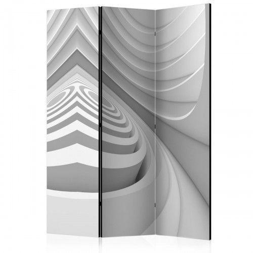 Parawan 3-częściowy - geometryczny tunel [room dividers] marki Artgeist