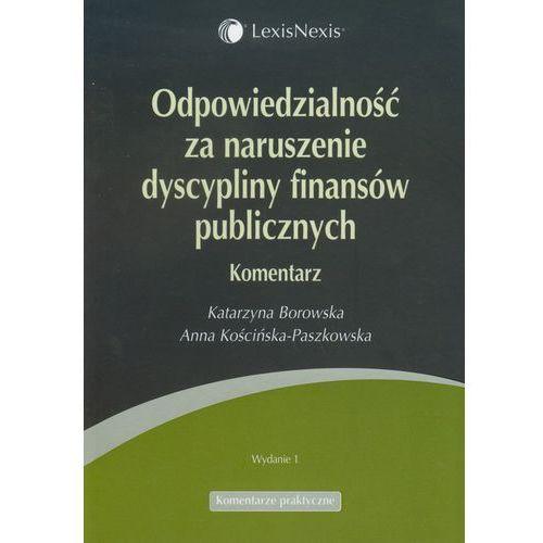 Odpowiedzialność za naruszenie dyscypliny finansów publicznych, LexisNexis