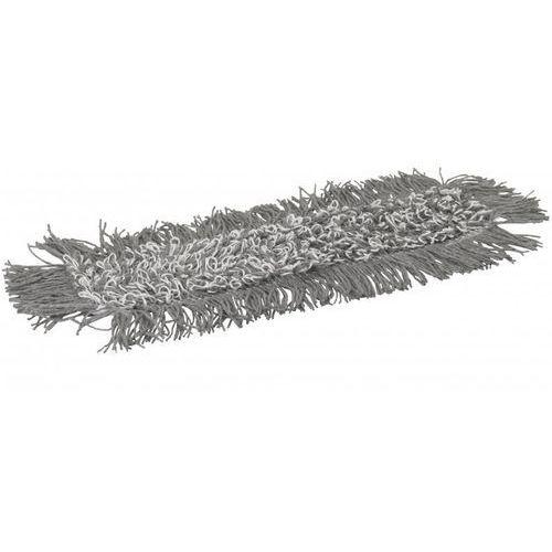 Mop Damp 43, do sprzątania na wilgotno, kieszeniowy, szary, 400 mm, VIKAN 549600