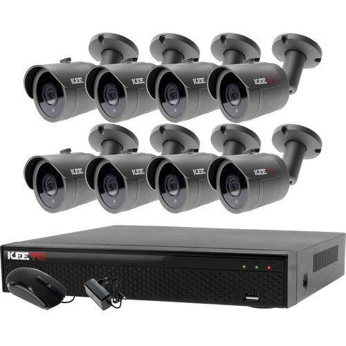 Ivelset Zestaw do monitoringu zewnętrzne kamery 8 x lv-al30ht + rejestrator lv-xvr84n-ii
