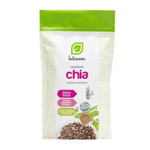 Nasiona chia - szałwia hiszpańska 1kg marki Intenson