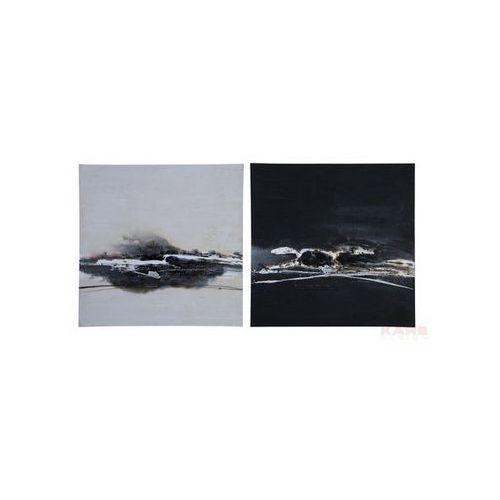 Kare Design Mountain Chalet Distance Horizon 120x120 ( 2/Set) Obraz (31509) (obraz)
