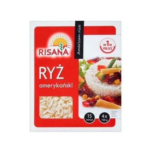 Ryż amerykański risana 4x100 g marki Sonko