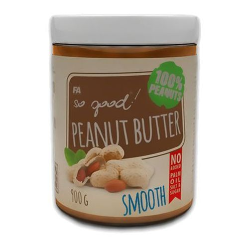 Fitness authority so good peanut butter - 900g - smooth (5902052816385)